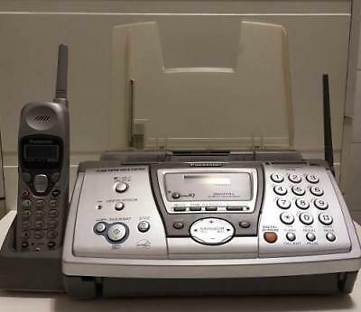 Panasonic KX-FPG376 Plain Paper Fax w 2.4GHz Cordless Phone and Digital Answer
