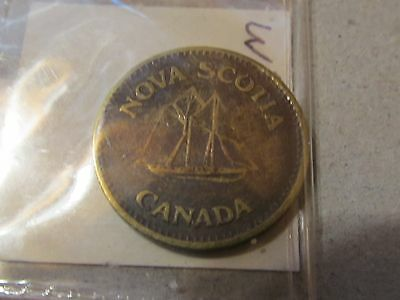Obsolete Arcade Token Nova Scotia (Canada) Ship.(Wizard).