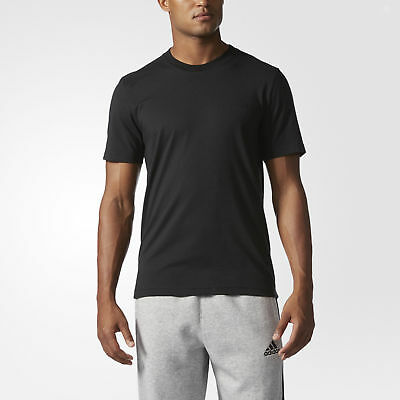 adidas Essentials Droptail 3-Stripes Tee Men's