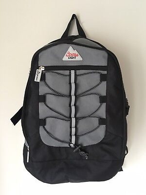 RARE New Coors Light Logo Bookbag Backpack | 2 zippers | with accessories!