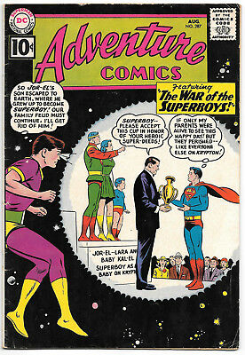 DC Adventure Comics #287 1961 Early Silver Age 1st Bizarro Jimmy Olsen VG/F 5.0