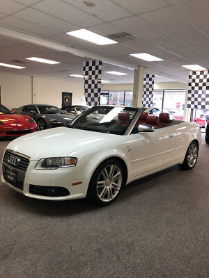 2007 Audi S4 Cabriolet Convertible 2-Door low mile free shipping warranty cabriolet clean carfax 2 owner v8 rare