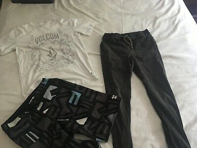 NEW Boys bulk lot size 12 Quiksilver and Volcom
