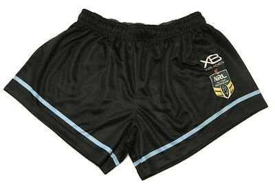 Cronulla Sharks 2018 Home Shorts Sizes S - 4XL NRL XBlades New In Stock Now!