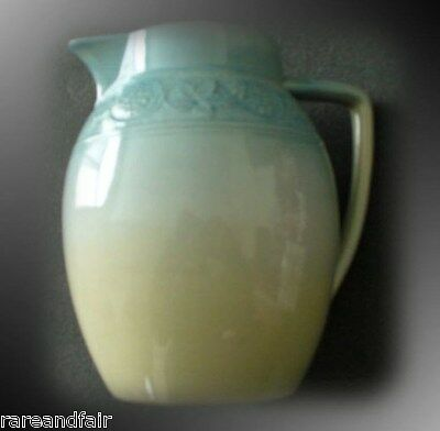 Rookwood art pottery pitcher by Irene Bishop - 1886