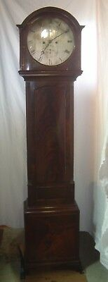 Ant.1790's James Howden Edinburgh Scottish Tall Case Clock, Keeping Perfect Time