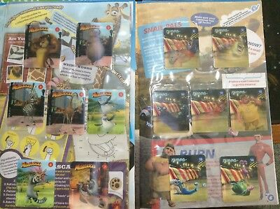 Woolworths Dreamworks HEROES Complete Set Of 42x Activity Cards