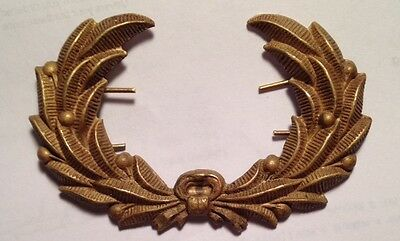 Indian Wars, A Brass U.S. Army Infantry, Hat Wreath, W/Wires attached, *Nice*