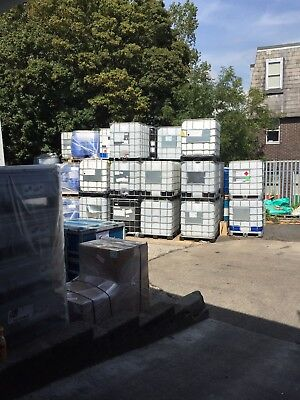 Ibc Clear/frosted Storage container waste/water/fuel/pond etc