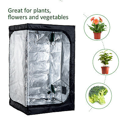 Outsunny 79 Inch Hydro-box Hydroponics tent Waterproof Oxford Cloth