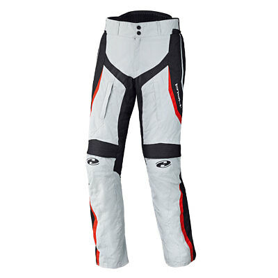 Held Link Grey / Red Motorcycle Motorbike Slim Fit Sports Trouser | All Sizes