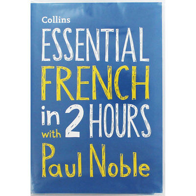 Essential French in 2 Hours with Paul Noble - Audio CD (Audio CD), CDs, New