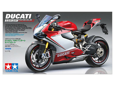 Tamiya 14132 1/12 DUCATI 1199 PANIGALE S TRICOLORE from Japan