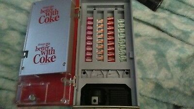 Coca Cola Collectible Musical Bank VENDING MACHINE 1996