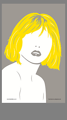 Debbie Harry Blondie Tea Towel