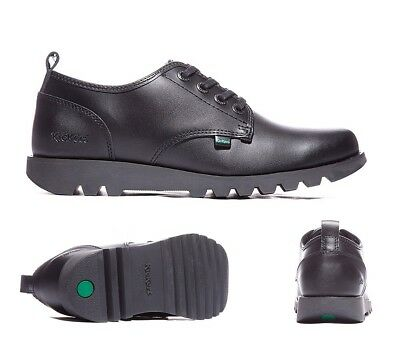 Mens Kickers Kick Lo Suma Leather Black Shoe RRP. £79.99