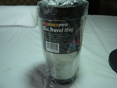 Roadpro Travel Coffee Mug/cup 15Oz