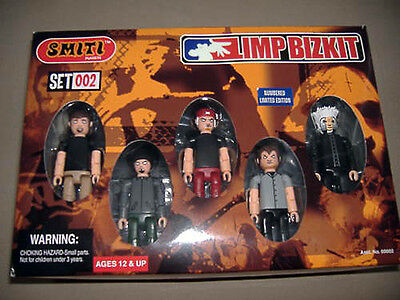 LIMP BIZKIT Action Figures SMITI 002 BOXED Playset w/ Music Stage RARE 2002 NIB
