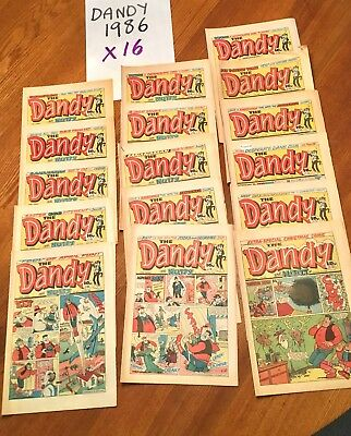 Dandy comics 1986 X 16