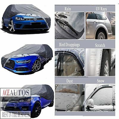 Waterproof Heavy Duty Cotton Lined Car Cover For Mercedes-Benz C-Class C63 Amg