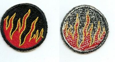 WWII WW2 Patch SSI-119th Infantry Regiment GHOST PHANTOM Division