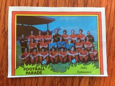 Monty Gum Like Panini Calciatore Football Rare 1980 Catanzaro Team Card