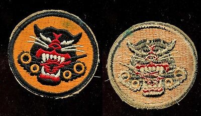 WWII WW2 Patch SSI-TD Tank Destroyer UNUSED 4 Wheel Variety-UNUSED Light Soiling