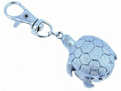 New Tortoise/Turtle Design Keyring/Clip Watch (ideal gift)