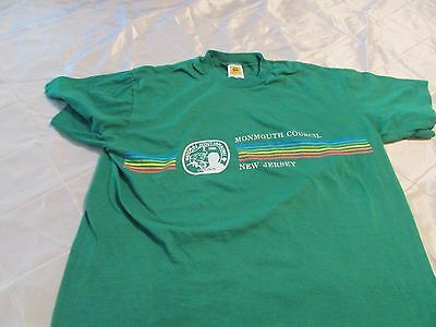 Vintage T Shirt  Boy Scouts Monmouth Council 1981 New Jersey Virginia Size M