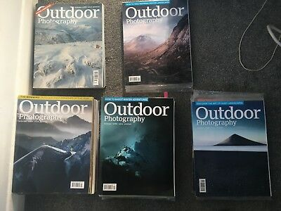 Outdoor Photography Magazine Collection + extras and CD's from 2014-2018