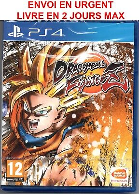 Dragon Ball Z Fighterz Ps4 / Neuf / Sous Blister / Vers Fr / Livre 2 Jours Max