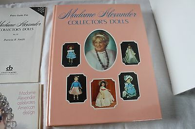 Madame Alexander Collector Dolls Hard Cover Illustrated Price Guide Book w extra