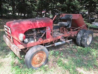 early 50's toro golf course tractor