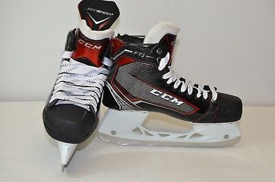 CCM Jet Speed FT1 Ice Hockey Skates Senior 9 EE (0213-C-FT1-9EE)  DAMAGED SKATE