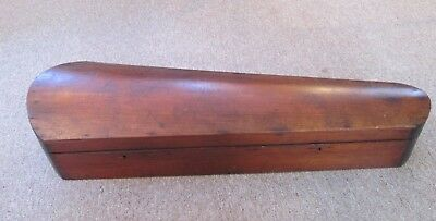 Gorgeous Antique Mahogany Violin Coffin Case