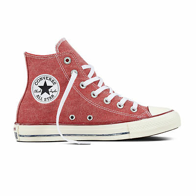 Converse Chucks Taylor All Star Hi  Damen Sneaker Schuhe Turnschuhe 159538C(red)