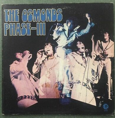The Osmonds - Phase III LP - 1971 - Rock - MGM Records - Stereo