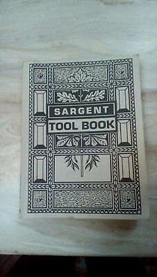 1911 Sargeant Tool Book reproduction