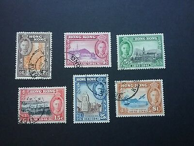 Hong Kong 1941 100th Anniversary of the Colony set used