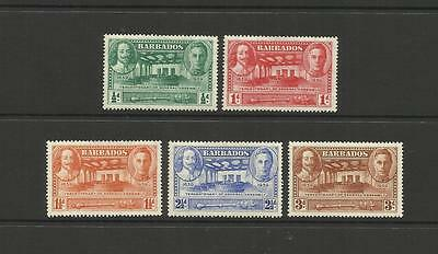 British Barbados ~ 1939 King George Vi ~ Tercentenary General Assembly