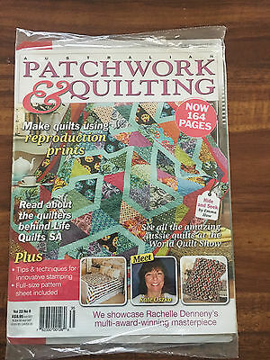 Australian Patchwork and Quilting Vol 22 No 8