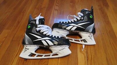 Very Lightly Used Reebok 11K Pro Stock Ice Hockey Skates Size 10 Flyers