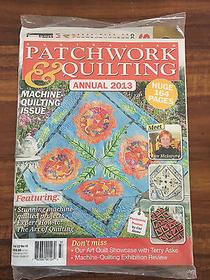 Australian Patchwork and Quilting Vol 22 No 10 Annual 2013