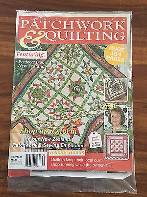 Australian Patchwork and Quilting Vol 22 No 11