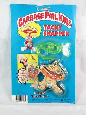 Vintage Imperial Toys Garbage Pail Kids TACKY SNAPPER - Sealed