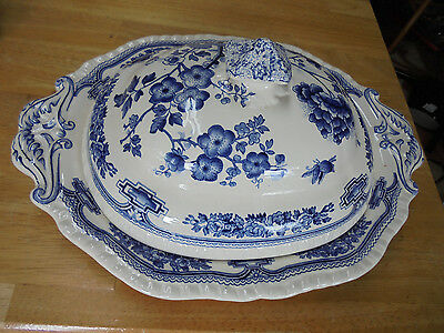 """Mason's """"manchu"""" Covered Serving Dish - Made In England"""