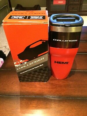 Dodge Challenger Collector's Edition Travel Mug NIB Never Used Stainless Steel