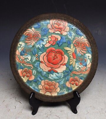 Antique Chinese Silk Embroidery Panels With Frame