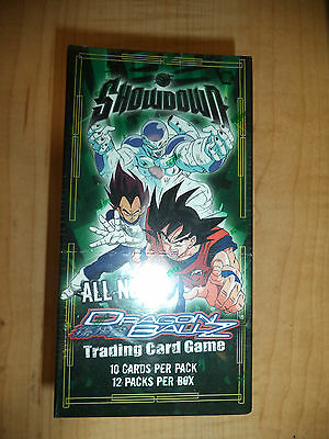 2005 Dragonball Z Showdown Sealed 12 Pack Trading Card Game Booster Box TCG