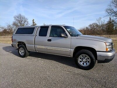 2006 Chevrolet Silverado 1500 LT 🔴2006 Chevrolet Silverado 1500 4x4 Ext Cab For Sale~1 Owner~Garaged~Exceptional